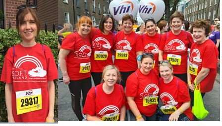 Team SOFT Ireland Trisomy13 Trisomy18 VHI Mini Marathon